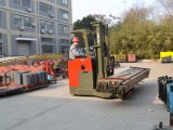 Battery 4-Way Forklift with High Mast