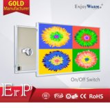 ERP Lot20 Wall Mounted White Aluminum Infrared Heating Panel IR Radiation Heaters
