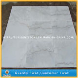 Discount Polished Chinese Guangxi White Marble Bathroom Flooring/Wall Tiles