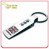 Custom Chrome Polished Souvenir Metal Key Chain