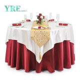Made in China Luxury Hotel Polyester Fabric Tablecloth Chair Covers