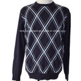 Men Knitted Sweater Clothes in Round Neck Long Sleeve (KH10-484)