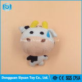 Good Price Promotional Beautiful Customized Stuffed Plush Cow Keychain Toy