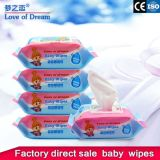 Private Label Non Alcohol Disposable Cheap Factory Price Wholesale Baby Wet Wipe Manufacturer in China