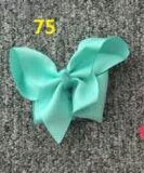 Bowknot Fashion Decorative Metal Silver Hairpins for Children 75
