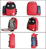 Coccinellidae Black & Red Polyester Lunch Box
