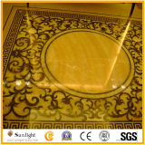 Marble Water Jet Medallion & Water Jet Pattern for Hotel Flooring
