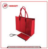 Hot Pink Felt Tote Bag Shopping Handbag Wholesale Clutch