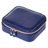 Medium Size Jewellery Box Zip Packaging Gift Box Ladies Soft PU Home Accessories