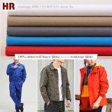 Factory Wholesale Cotton Twill Fabric Workwear Uniform Fabric