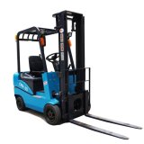 Ce Approved Cheap 4 Wheel Balanced Weight Electric Forklift Price Rough Terrain