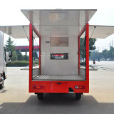 Electric Bus Food Truck for Selling Fast Food Mobile Food Carts