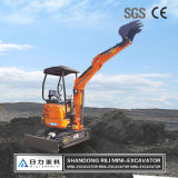 High Quality Cheap Mini Excavators Small Crawler with Rubber Track