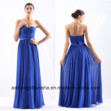 Women Chiffon Sleeveless Backless Sexy Evening Party Prom Dress