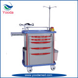 Hospital Medical Equipment ABS Emergency Cart