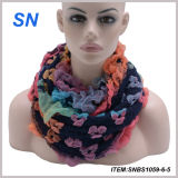 Latest Fashion New Design Winter Acrylic Snood Scarf for Women