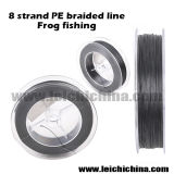 Factory Wholesale 8 Strand Braided Line Frog Fishing