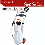 Shixia Seesa Plastic Wholesale 12L 16L Garden Tool Agricultural Hand Pressure Compression Handcart Pump Sprayer (SX-CS12L, SX-CS16L)