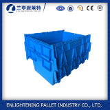 Heavy Duty 62L Stackable Plastic Storage Crates for Sale