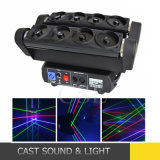 Professional 8 Eye Moving Head Laser Rotating Light
