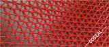 Plastic PVC Anti-Slip Red Mesh Mat