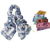 Ladies Fashion Retro Bohemian Voile Scarf