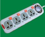 4 Outlets Electric Extension Socket No. 168