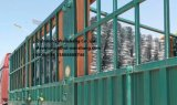 Welded Coated Steel Fencing Galvanized Steel Fence 1.8m Highx2.5m Wide
