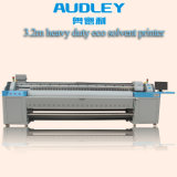 Audley 3.2m Large Format Eco Solvent Printer Price with Double Dx7 Ce