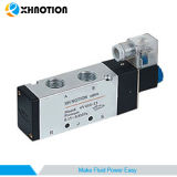 "4V Double Position Directional Piloted Solenoid Valve M5, 1/8"" Thread"