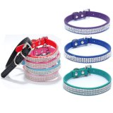 Wholesale Luxury Rhinestone Bling Crystal Small Pet Product Dog Cat Collar