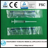 Luer Lock 5ml, Disposable Sterile Syringe with Needle Made of PP