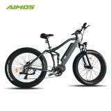 Full Suspension Fat Tire MID Drive Electric Bicycle 1000W