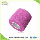 Bulk Wholesale Elastic Sport Medical Non-Woven Cohesive Bandage