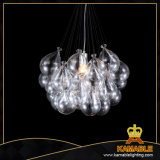Glass Pendant Light Decoration Suspension Light (MD4161-CL)