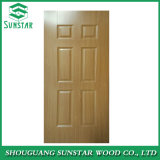 2.7mm/3mm/4mm/4.2mm/Embossed/Glossy/Teak/Sapeli/Natural Veneer/Engineer Veneer/Melamine/Moulded HDF Door Skin for Fuiniture