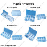 Wholesale Different Compartments Designs Fly Fishing Flies and Terminal Tackle and Fly Fishing Hook Boxes 09A-Hl0509, Hl0510, Hl0311