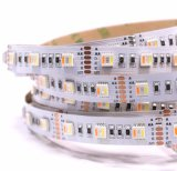 Ce & RoHS Rgbww Five Color 5 Chips in One Strip Colorful Changing LED Flexible Strip Light