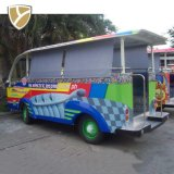 Street Legal Low Price Fashionable Electric Shuttle Bus
