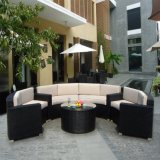 Living Outdoor Furniture Aluminum Rattan Sofa Sets