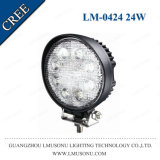 4.3 Inch Auto Car LED Work Light 24W off Road LED Flood Light