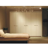 Oppein 6 Doors White Modern Side-Hinged Door Wardrobe (OPY09-6)