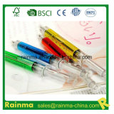 New Style Promotion Gift Syringe Shape Plastic Injection Ball Pen