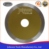 115mm Continuous Diamond Saw Blade for Cutting Marble