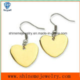 Fashion Earrings Stainless Steel Eardrop Jewelry Gold Earring (ER2655)