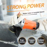 180mm Variable Speed Water (Wet) Type Angle Grinder (6252B)