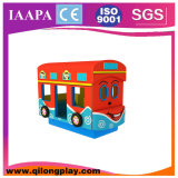 New Products Rotating Bus Electric Soft Play for Sales (QL--072)