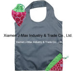 Foldable Shopper Bag, Fruits Grape Style, Reusable, Lightweight, Grocery Bags, Promotion, Accessories & Decoration