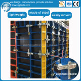 Light Weight Steel Concrete Wall and Column Formwork System