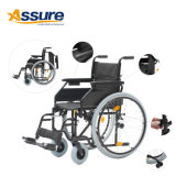 Non Electric Stair Climbing Wheel Chair with Handbrake for Disability
